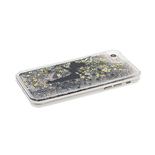 "iPhone 6 Coque, [Bling Glitter Coeur en forme] iPhone 6s étui Cover (4.7""), Daisies Fluide Liquide Sparkles Sables iPhone 6 Case (4.7""), Shell anti- chocs (Marguerites) Couleur 1"