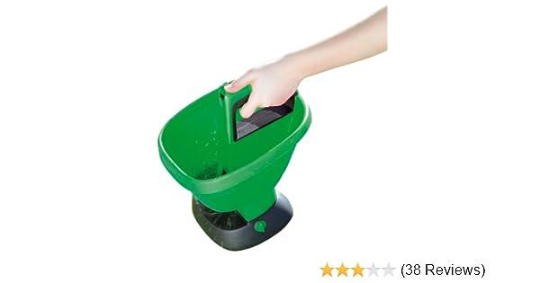 Handstreuer 3L für Saatgut Dünger Streusalz Rasen Salz Streuer Universalstreuer