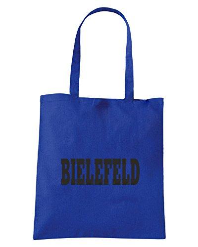T-Shirtshock - Borsa Shopping WC0828 BIELEFELD GERMANY CITY Blu Royal
