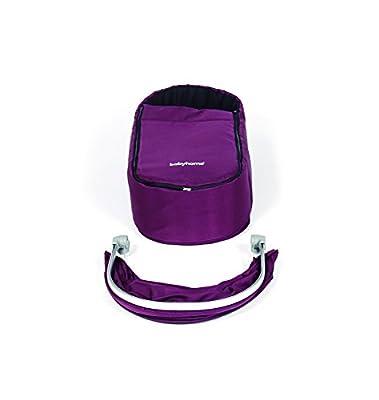 Babyhome Vida - Kit nido y cuco, color purpura