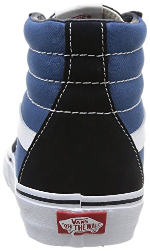 Vans Sk8-Hi, Unisex-Adults' High-Top Trainers, Blue (navy), 3 UK