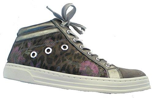 Ara 12-37457 Courtyard donna Sneaker larghezza H per solette sciolti Grigio