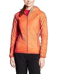 Salewa Duran Hybrid Prl W - Chaqueta para mujer, color naranja, talla 38 / 32