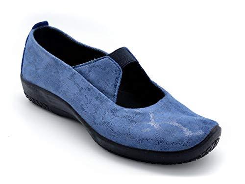 Zapato Licra Plantillas Arcopedico M-4671 Azul - Azul