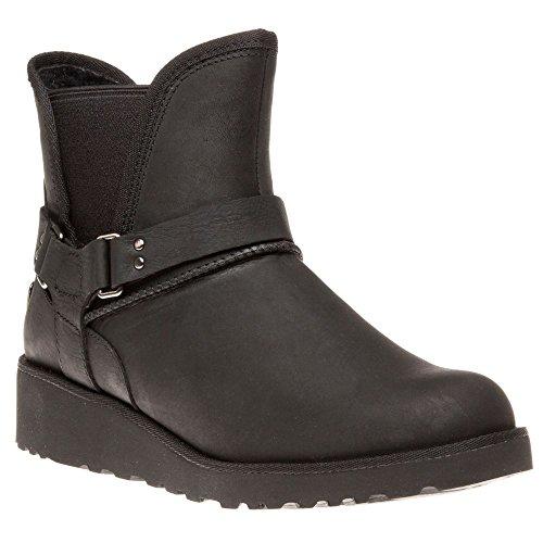 ugg-australia-womens-glen-black-leather-boots-37-eu