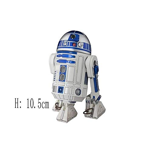 MA SOSER Perfekte Modell R2-D2star_Wars Action FigureMovable All-Legierung Star Wars R2D2 Roboter alte Version Modell handgehaltene Sammlung Ornamente