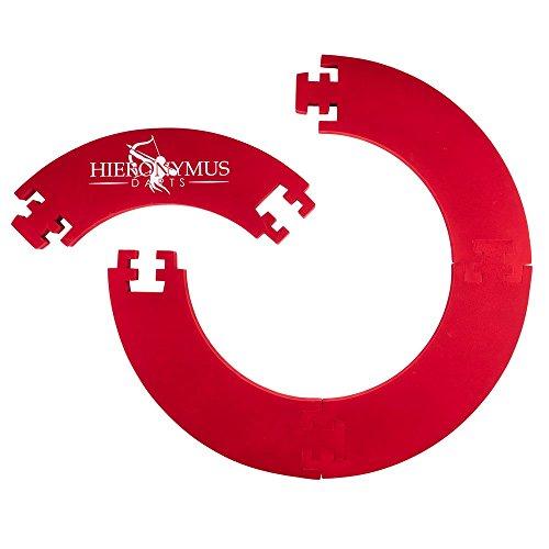 Hieronymus Darts Dart-Ring Backboard Dartscheibe (rot)