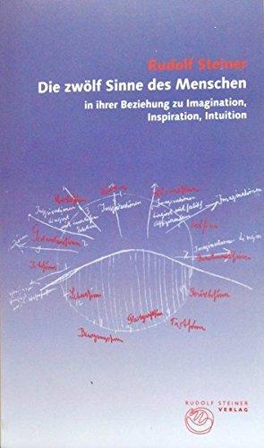 Die zwölf Sinne des Menschen in ihrer Beziehung zu Imagination, Inspiration, Intuition (Thementexte)