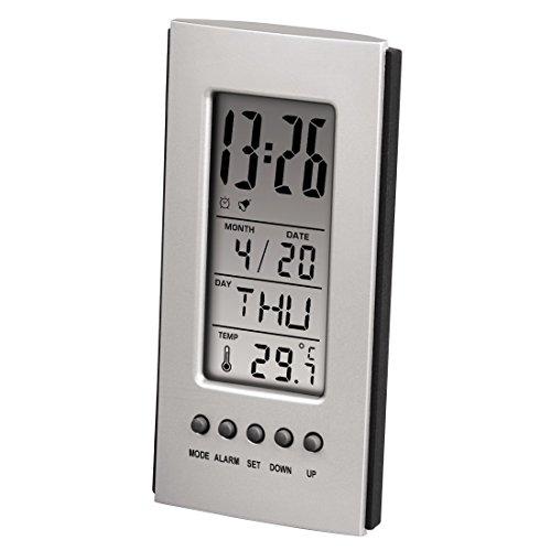 Hama Termometro LCD con orologio e calendario