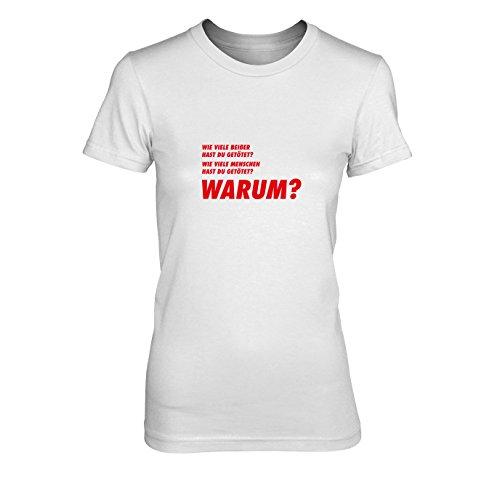 TWD: DREI Fragen - Damen T-Shirt, Größe: XL, Farbe: - Twd Maggie Kostüm