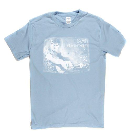 Seth Lakeman English Folk Singer Fiddle Tenor Guitar Country T-shirt Himmelblau
