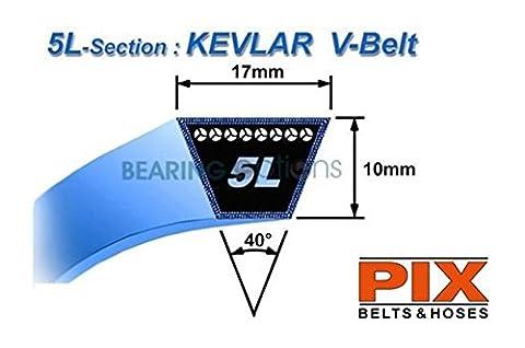 Kubota tondeuse à gazon Kevlar ceintures G1800G2160(2x PTO ceintures)