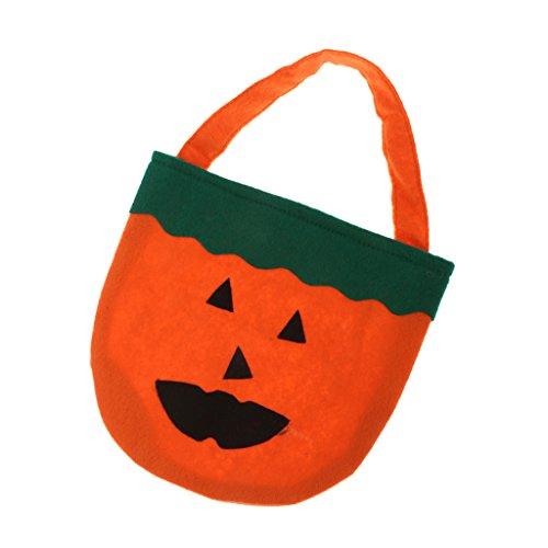 Trick Oder Leckerei-Kürbis-Tasche (Halloween Taschen Für Trick Oder Treaters)