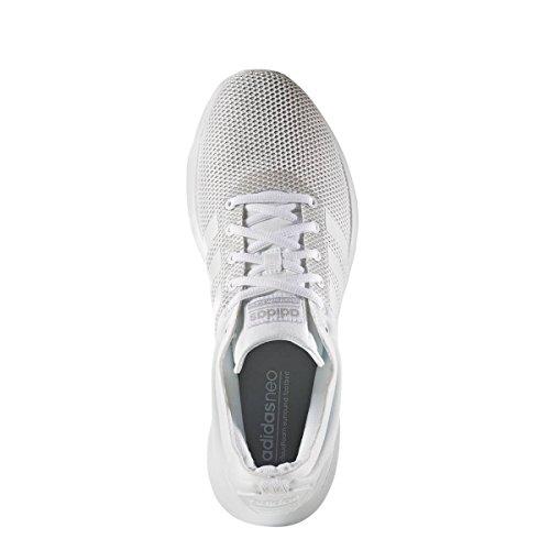 adidas Herren Cloudfoam Super Racer Turnschuhe Bianco (Ftwbla/Ftwbla/Onicla)