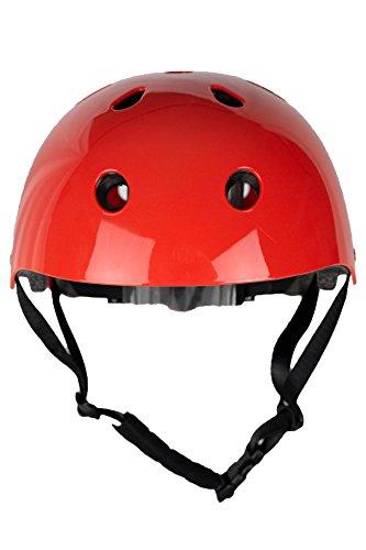 Skullcap® BMX Helm ☢ Skaterhelm ☢ Fahrradhelm ☢, Herren | Damen | Jungs & Kinderhelm, schwarz matt & glänzend (Red Ocean, S (51 – 54 cm)) - 2