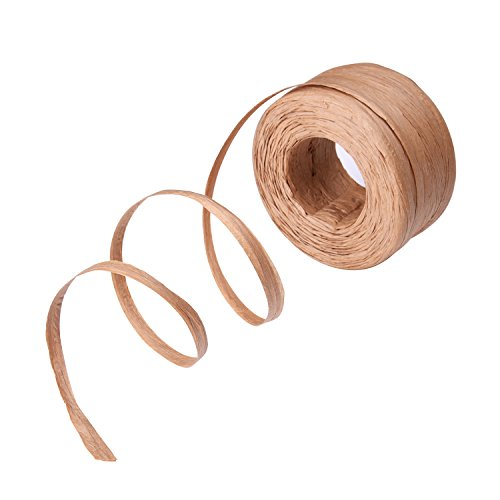 Outus Raffia Paper Craft Ribbon, 1/ 4 Inch by 100 Yards