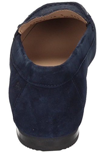 Sioux Damen Slipper Blau