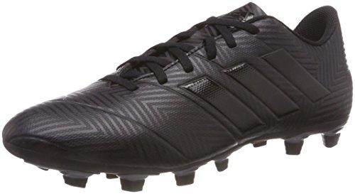 adidas Herren NEMEZIZ 18.4 Fxg Fußballschuhe, Schwarz (Core Black/Core Black/FTWR White), 40 2/3 EU