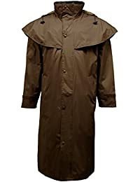 Mens Barclay Cape Long Riding Waterproof Coat