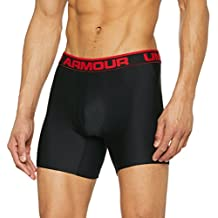 Under Armour The Original 6 Jock, Boxer Uomo, Nero, L