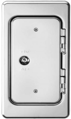 Upmann 10115 Kamintür K15 SV 14x25