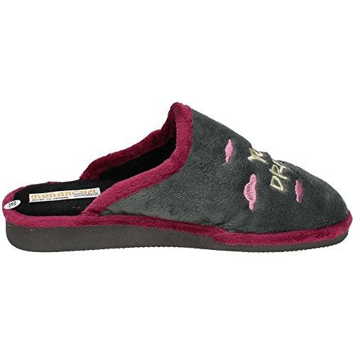 MORANCHEL, Pantofole donna Grigio