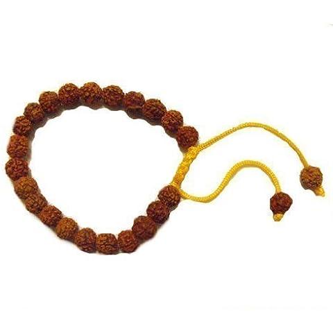 Tradizionale Tibetana braccialetto di perline preghiera bhodi - a mano - commercio equo e solidale