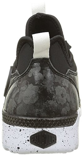 Palladium Plvil Mid Flo F, Baskets Basses Femme Noir (315 Black)