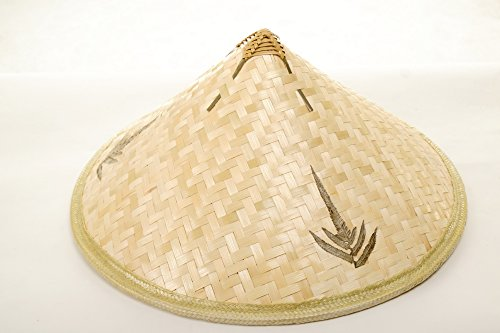 DRESS ME UP – DH-004 Hut Strohhut Bambushut Kegelhut Conical Hat China Vietnam Japan Asien Chinese Reisbauer Fischer - 3