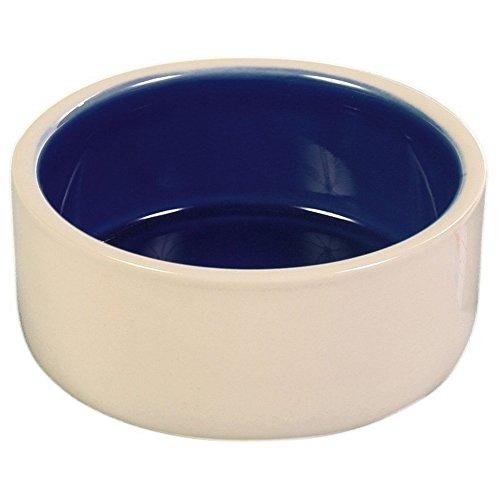 Trixie Keramiknapf, ø 23 cm, creme/blau