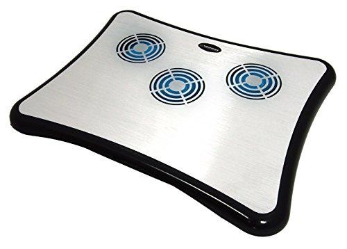Esperanza Breeze Kühlmatte Für Laptop Bis 15,6 Zoll Kühler Kühlpad Mit 4 USB Ports und 3 Lüfter -