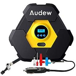 Audew Compressore Aria Portatile Display Digitale DC 12V 150PSI