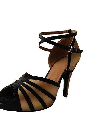 La mode moderne Non Sandales Chaussures de danse pour femmes personnalisables en cuir Cuir Latin/Salsa/Samba/Swing chaussures sandales talon aiguille talons/autres performances US5/EU35/UK3/CN34
