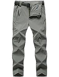 Geval Windproof Outdoor Men Relaxed Fit randonnée Pantalons Séchage rapide