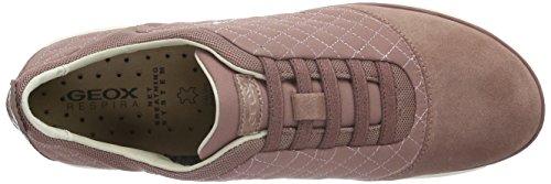 Geox D Nebula A, Baskets Basses Femme Pink (OLD ROSEC8014)