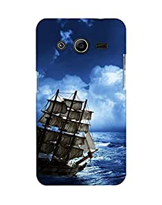Mobifry Back case cover for Samsung Galaxy Core 2 G3558 Mobile (Printed design)