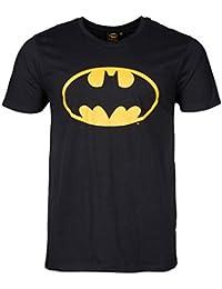 Original Oversize Batman Logo T-Shirt 3XL 5XL Schwarz