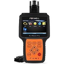 Foxwell NT624 OBD2 Diagnosis Scanner Full Ssytem All Brand Diagnostico Herramientas Coche Check Engine/ ABS/ Airbag/ Transmisson + EPB / Oil Service OBD II Escaner de Diagnostico