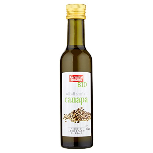 Germinal Bio Olio di Semi di Canapa - 250 ml