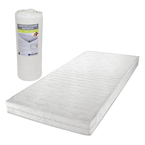 matratze rollmatratze wendematratze komfortschaum in 90 x 190 cm gesamth he 13 cm klimafaser. Black Bedroom Furniture Sets. Home Design Ideas