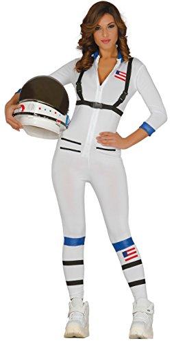 Guirca-Kostüm Erwachsene Astronaut, Gr. 38-44(84394.0) (Weiß Astronaut Kostüm Für Erwachsene)