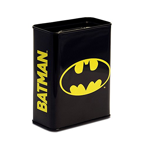 DC Comics - Batman Logo Blech Spardose - Sparbüchse - Lizenziertes Originaldesign - Logoshirt