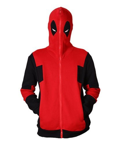 Preisvergleich Produktbild Deadpool Full Zip Mittel Hoodie