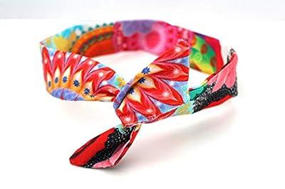 Bandeau rigide court Multicolore