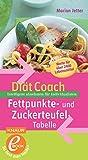 Diät-Coach Fettpunkte- und Zuckerteufel-Tabelle