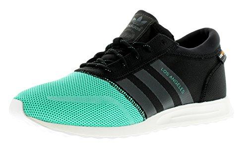 adidas Herren Los Angeles Sneakers, Schwarz/Blau 44 EU