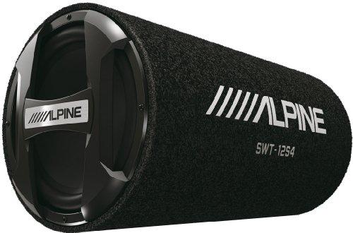 Alpine SWT-12S4 300W Black subwoofer - subwoofers (300 W, 28 - 200 Hz, 1000 W, 92 dB, 4 Ω, Black)
