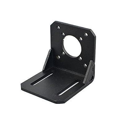 STEPPERONLINE Halterung für Nema 17 Schrittmotor (Getriebestufe) Hobby CNC / 3D Drucker DE048