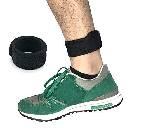 CAREOR Verstellbar, mit Arm- und Knöchel Armband Band Armband mit Klettverschluss und 1 Tasche für Garmin/Fitbit One/Fitbit Flex/Fitbit Alta/Alta HR, Fitness-Tracker-Armband (Fitbit Band Xl)