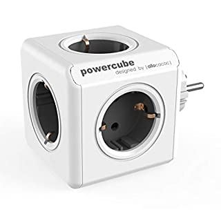 Allocacoc PowerCube White/Black